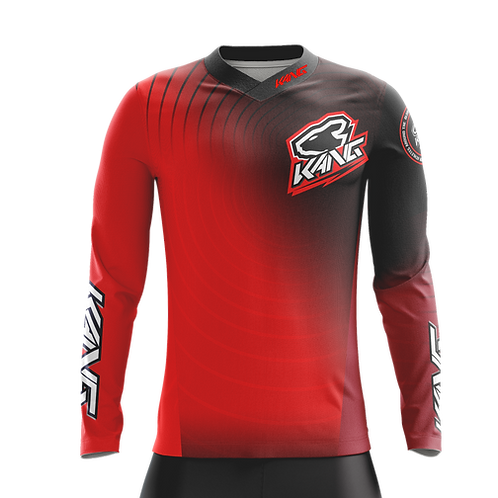JERSEY KANG RADIAL RED/BLACK