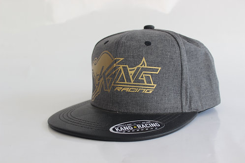 KR KANG GREY/GOLD HAT