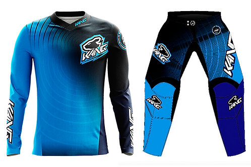 KANG RADIAL BLUE/BLACK KIT