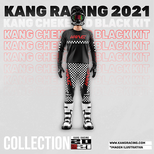 KANG CHECKERED BLACK KIT