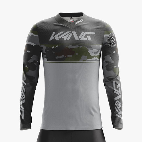 JERSEY KANG CAMO GREEN-BROWN