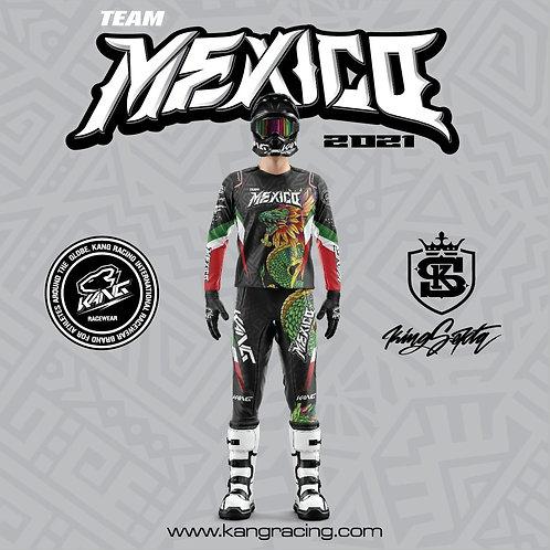 JERSEY KANG TEAM MEXICO 2021 SIEMPRE FIRMES- SEKTA GRAFF COLLAB
