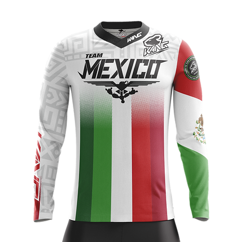 JERSEY KANG TEAM MEXICO WHITE 2020