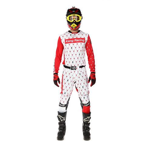 KANG Monogram SPRME Red/White KIT