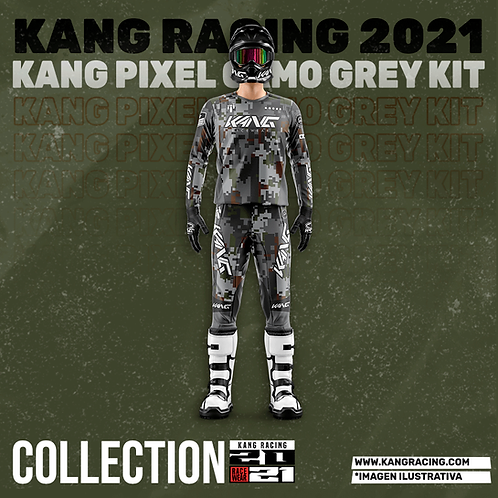 KANG PIXEL CAMO GREY KIT