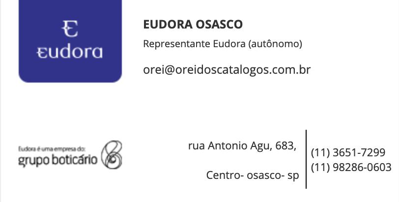 Veja o catalogo Eudora