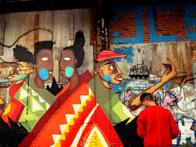 Mafuta ink - with Nolan Dennis 2012