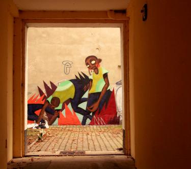 Berlin mural