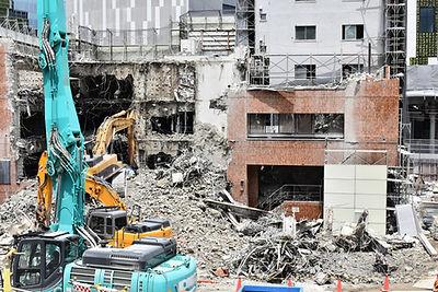 建物解体時のスクラップ