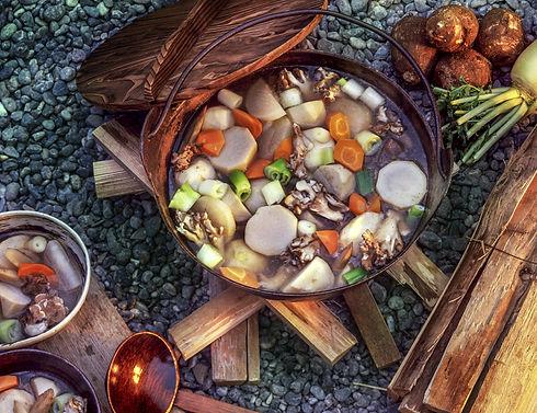山形の芋煮会