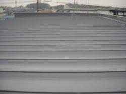 屋根の遮熱塗装
