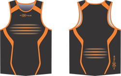 S201XS black Orange union singlet.png