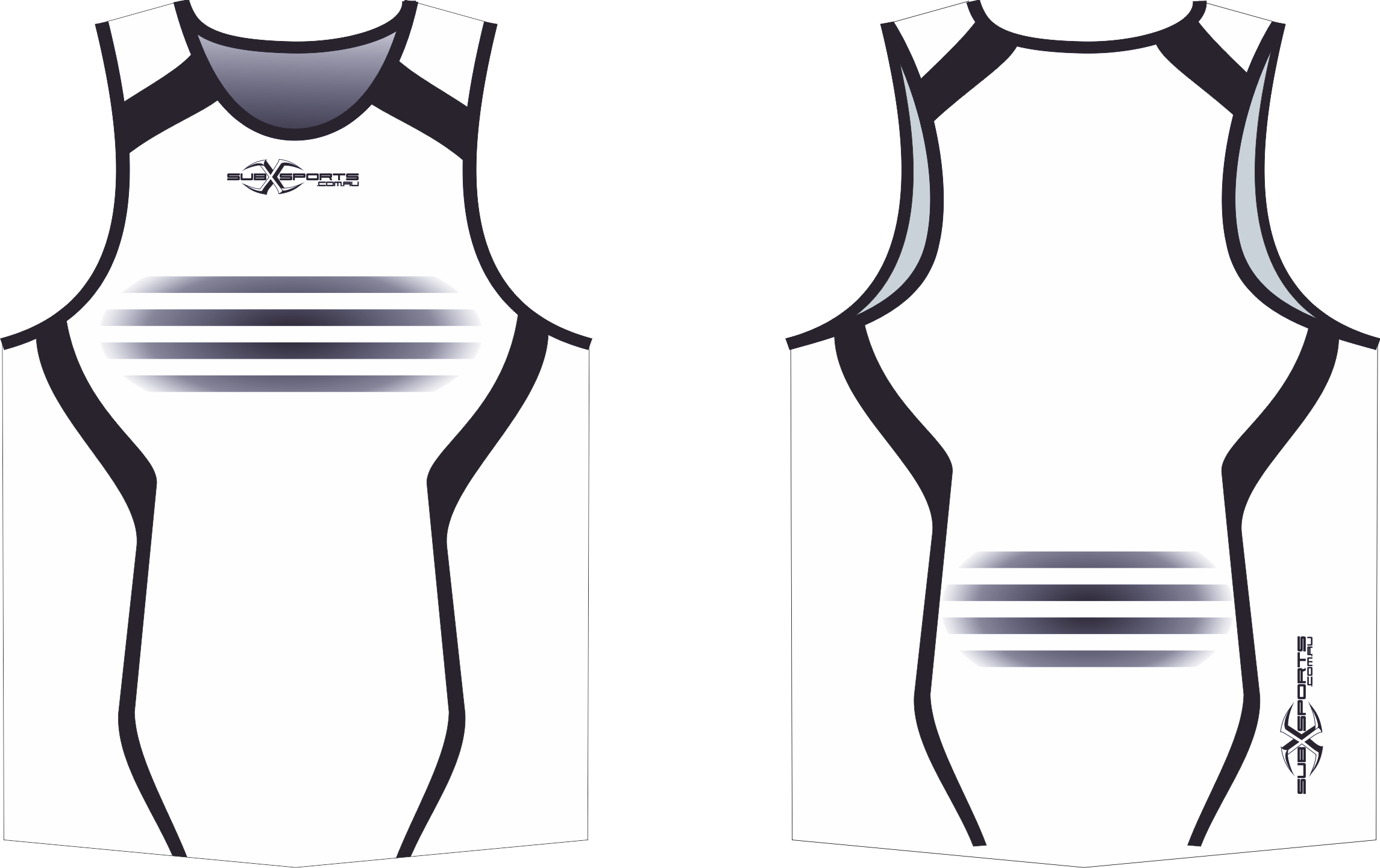 S201XS white black team Singlet.png