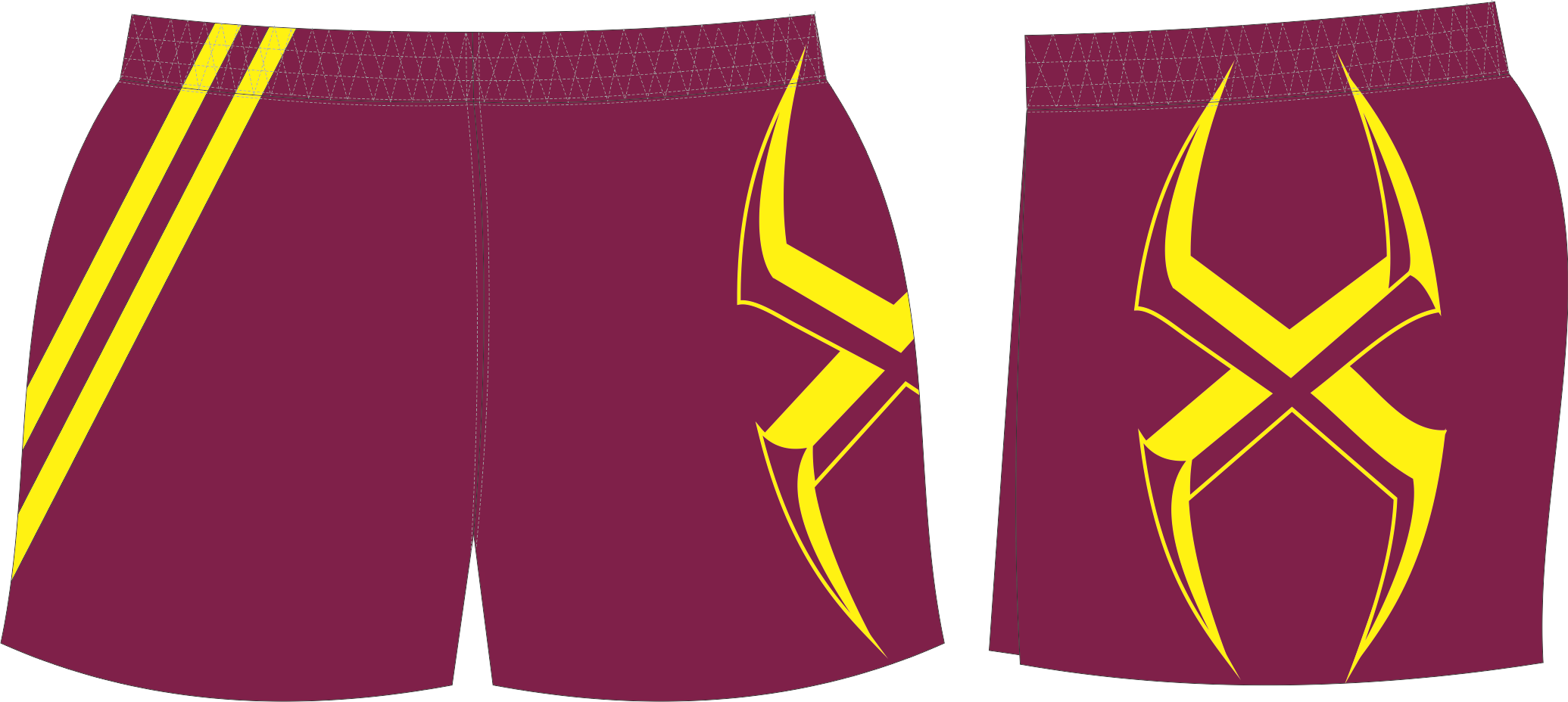 X301XST Maroon Gold Short.png