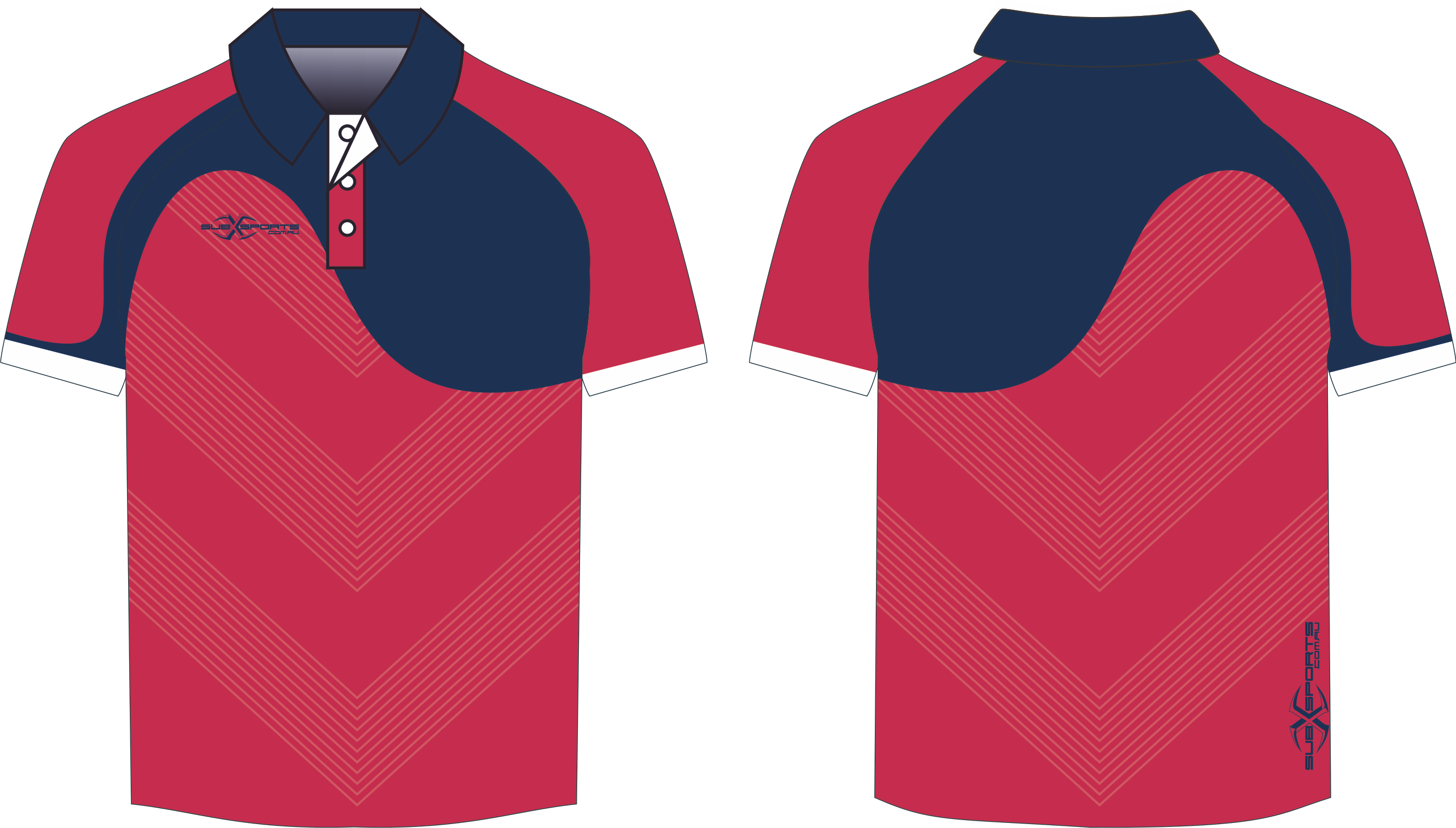 X304XP Polo Red Navy.png