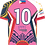 Thumbnail: Philippines Rugby League Tamaraws Pink Playing Jersey