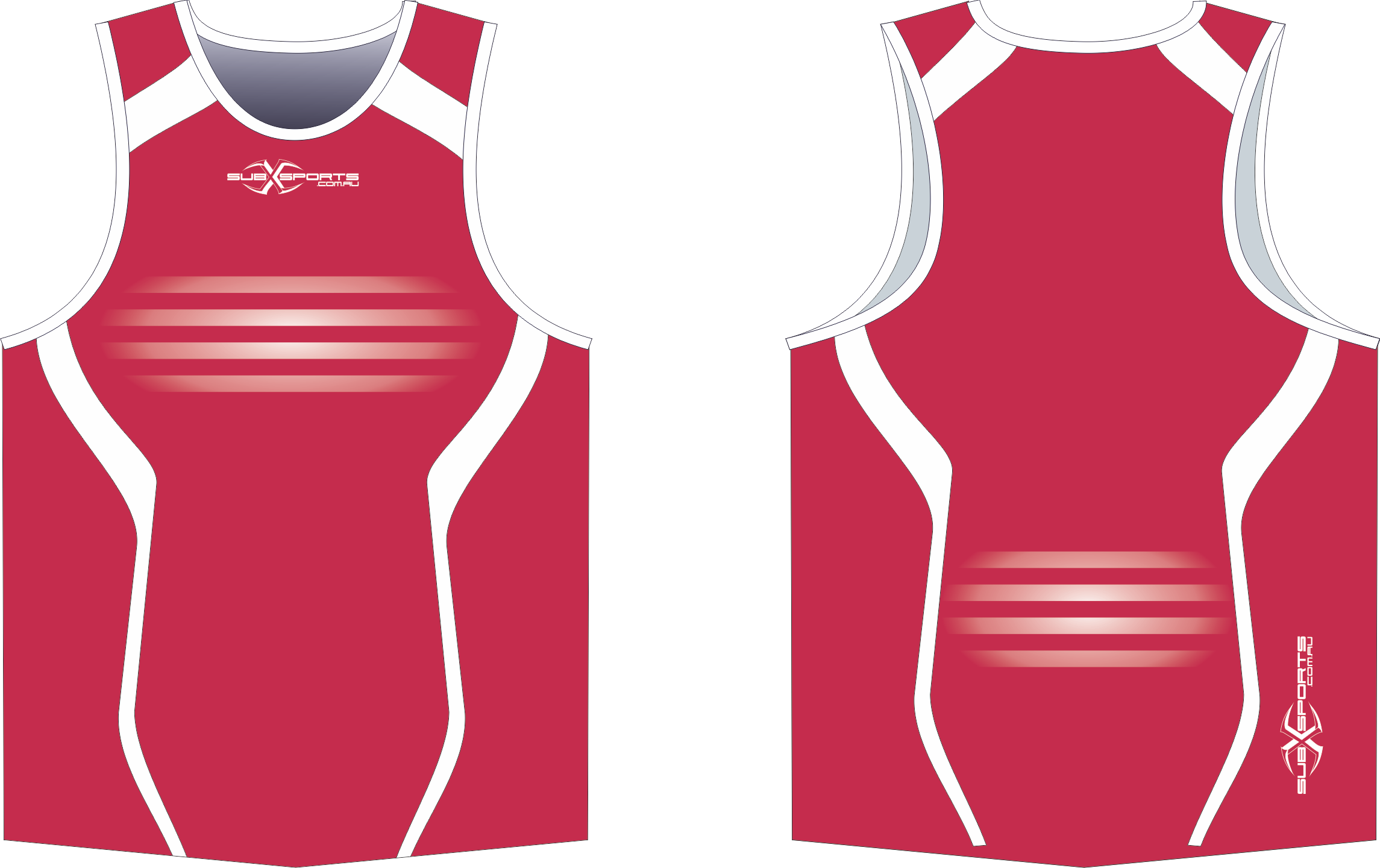 S201XS Red White rugby Singlet.png