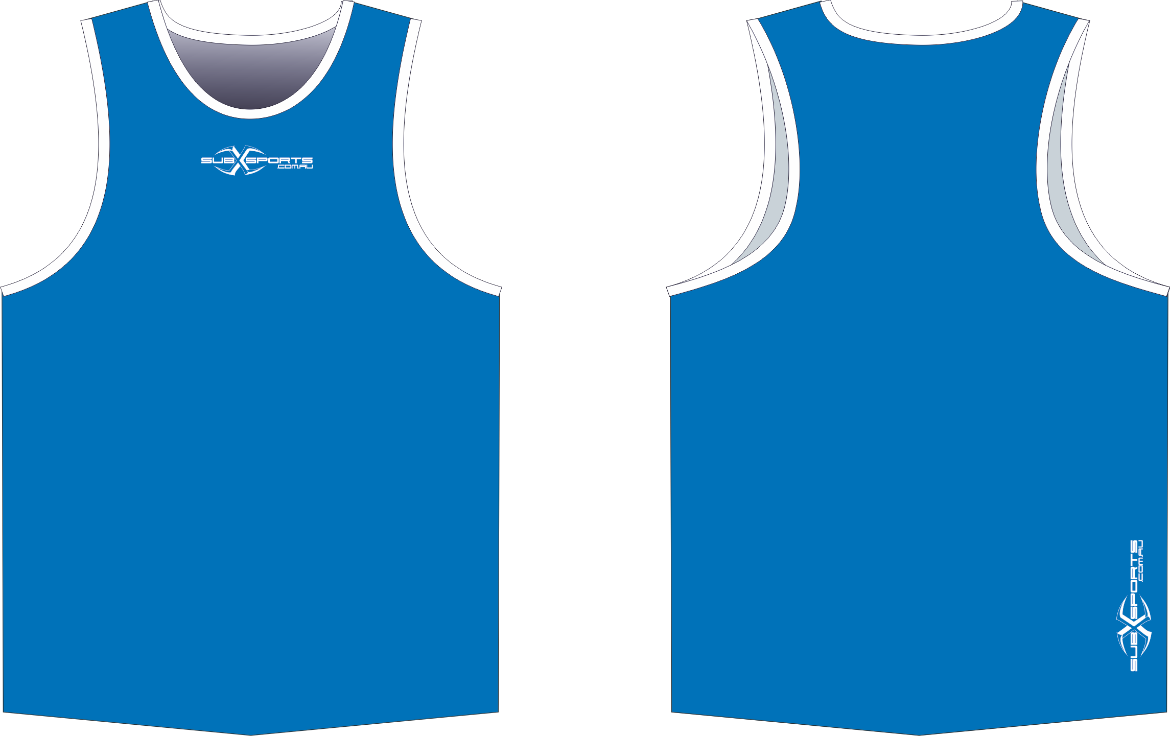 S206XS Singlet Blue White.png
