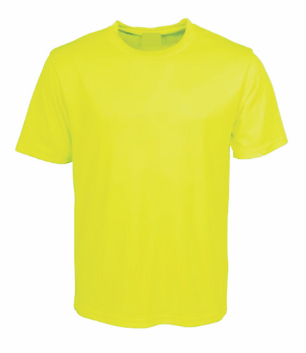 subXpress Printed Lime T-Shirt