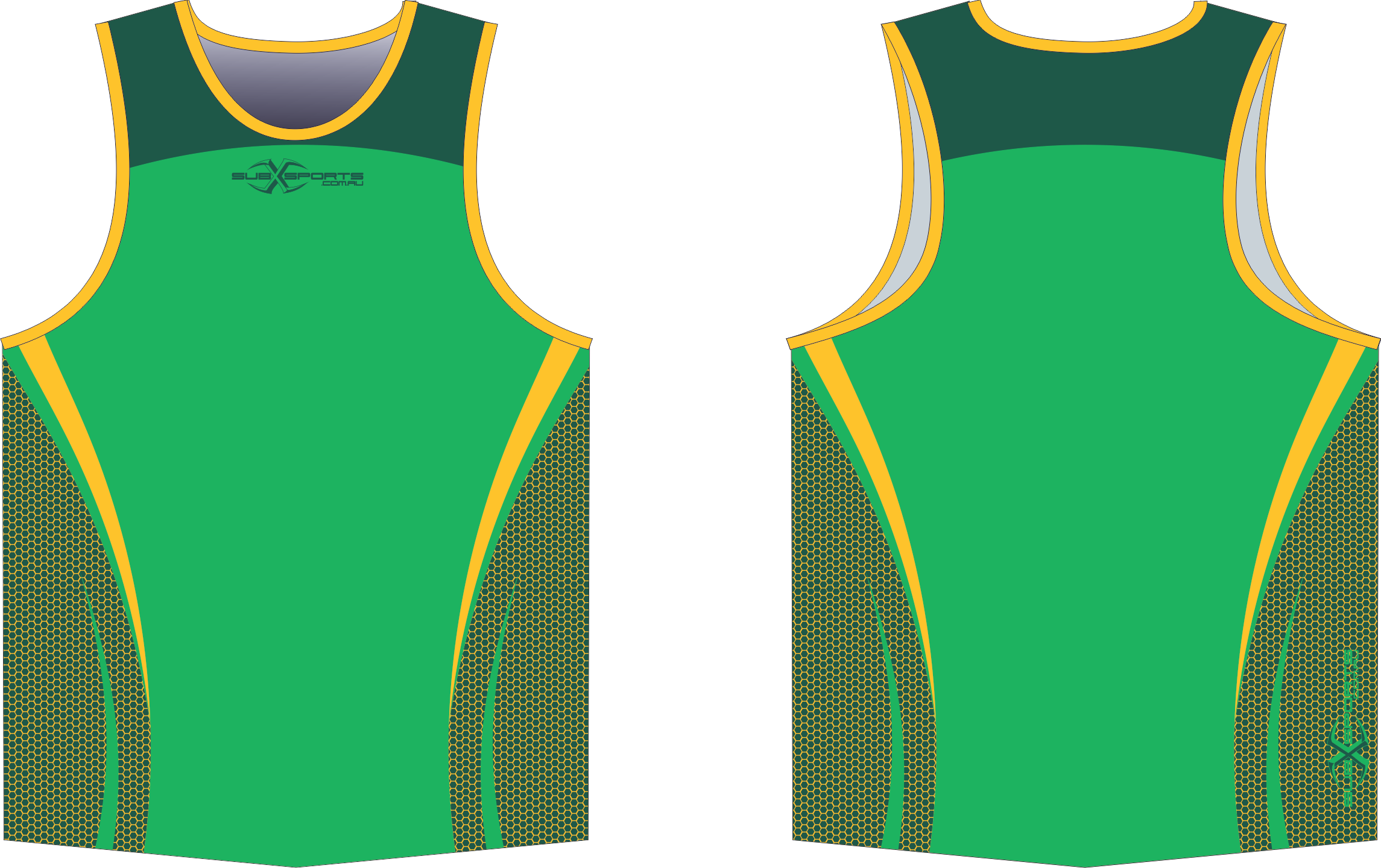 X302XS Singlet Green Bottle Gold.png