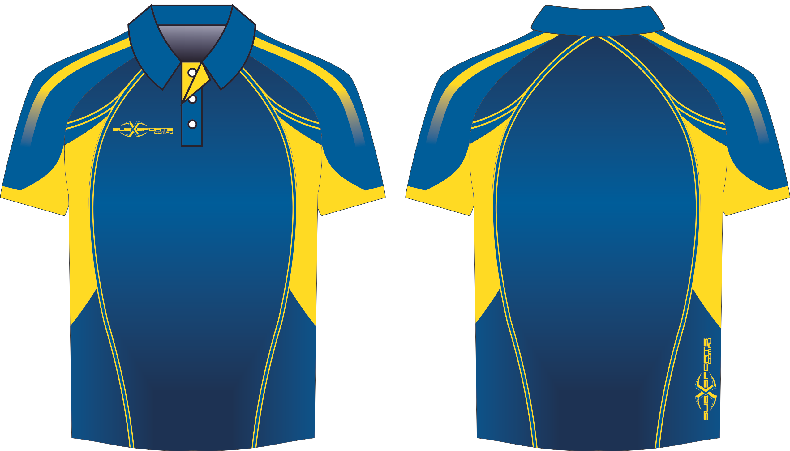 X303XP Polo Navy Blue Gold.png