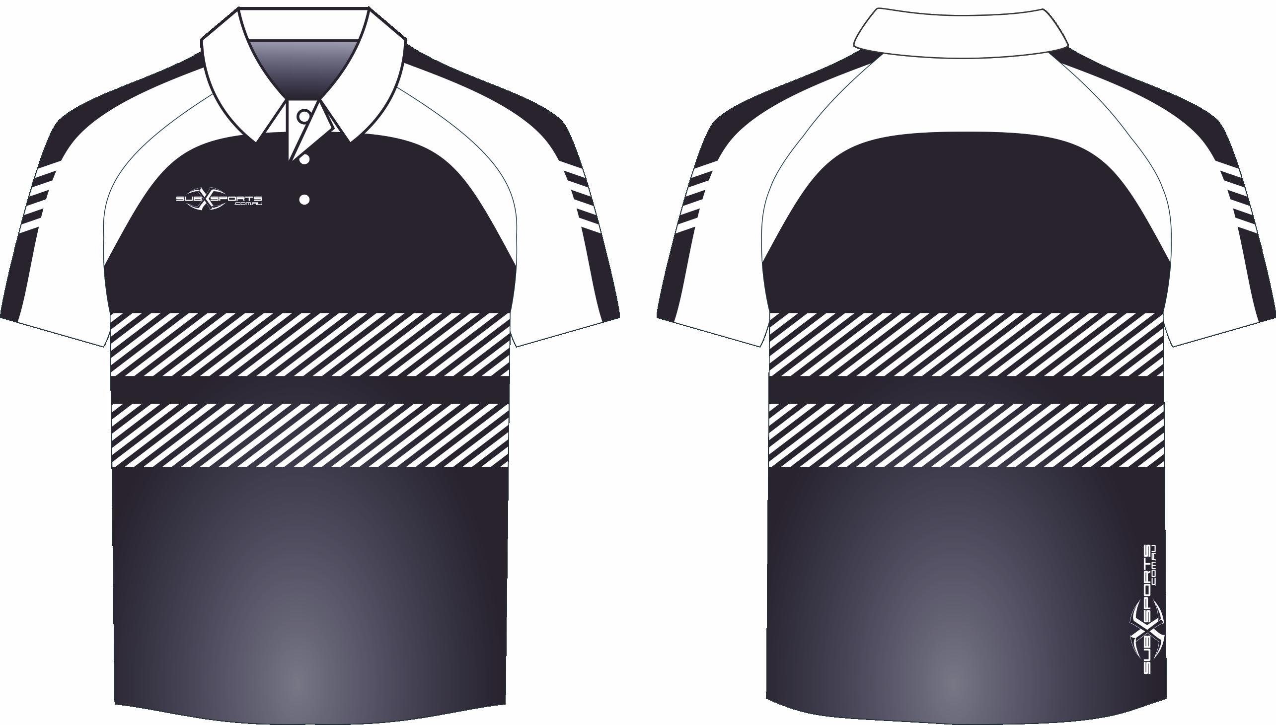 X305XP Polo Black White.png