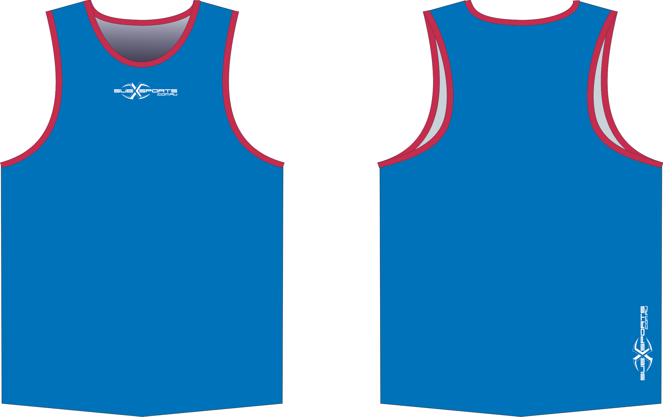 S206XS Singlet Royal Red.png