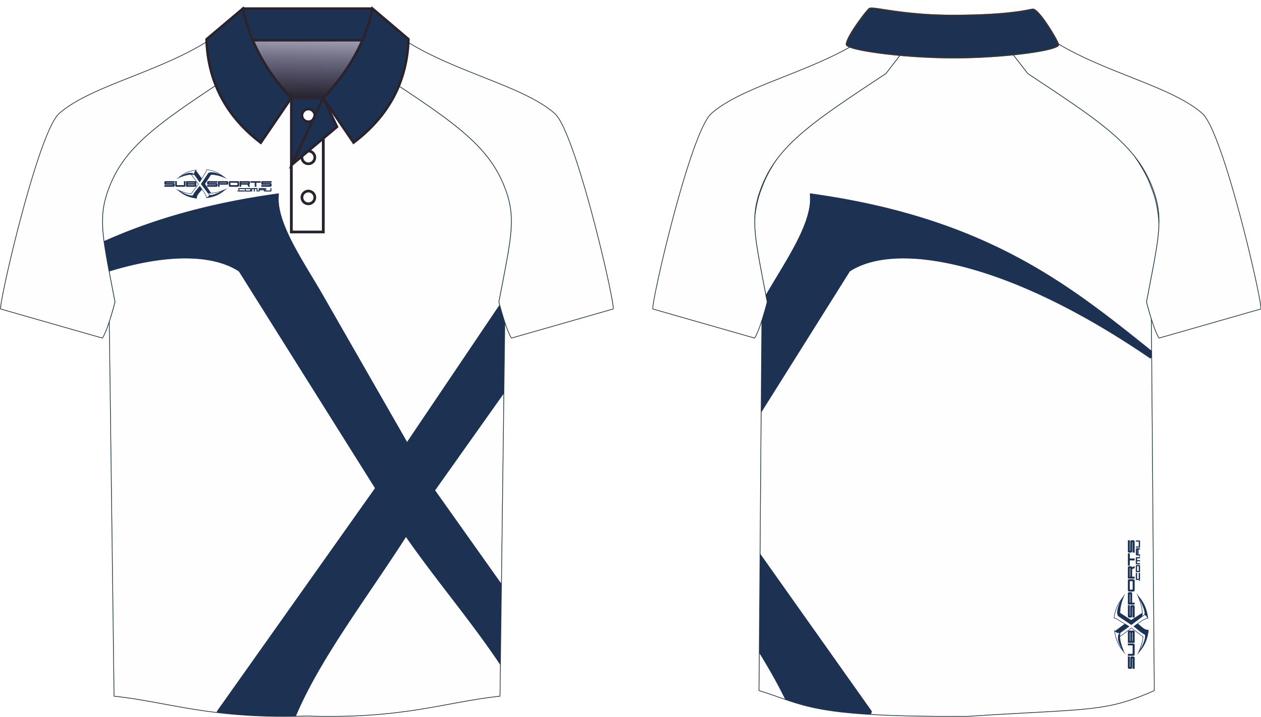 X301XP White Navy Polo.png