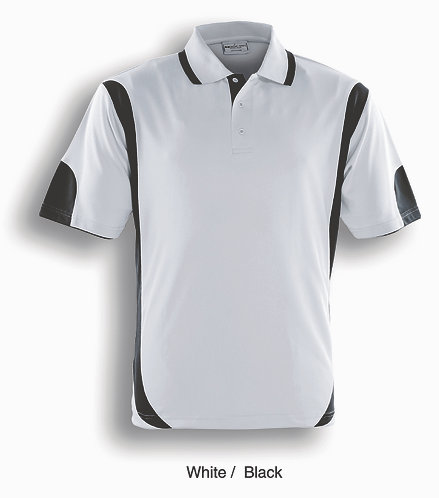 Kids Breezeway Contrast Cricket Polo BCP0552