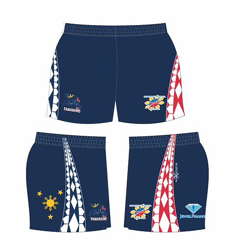 Philippine Tamaraws Rugby League Playing Shorts