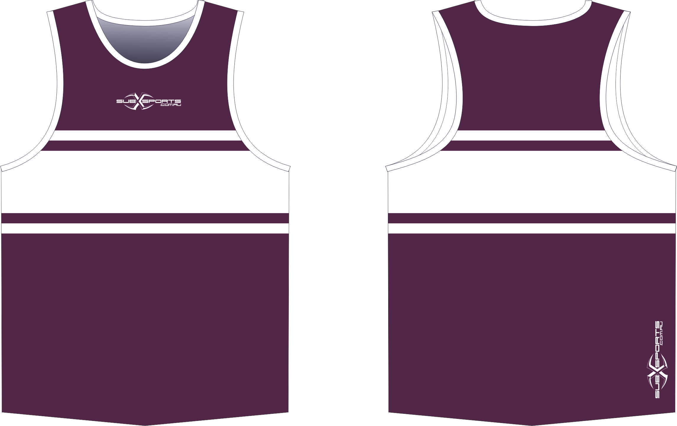S203XS Sub Singlet Maroon White.png