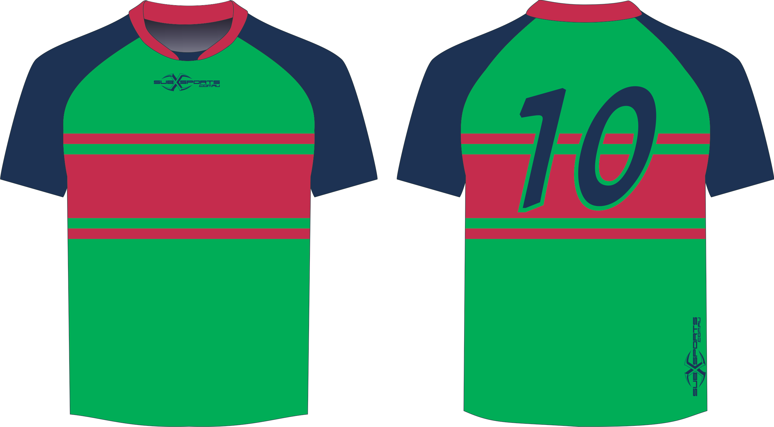 S203XJ Sub Jersey Green Navy Red.png