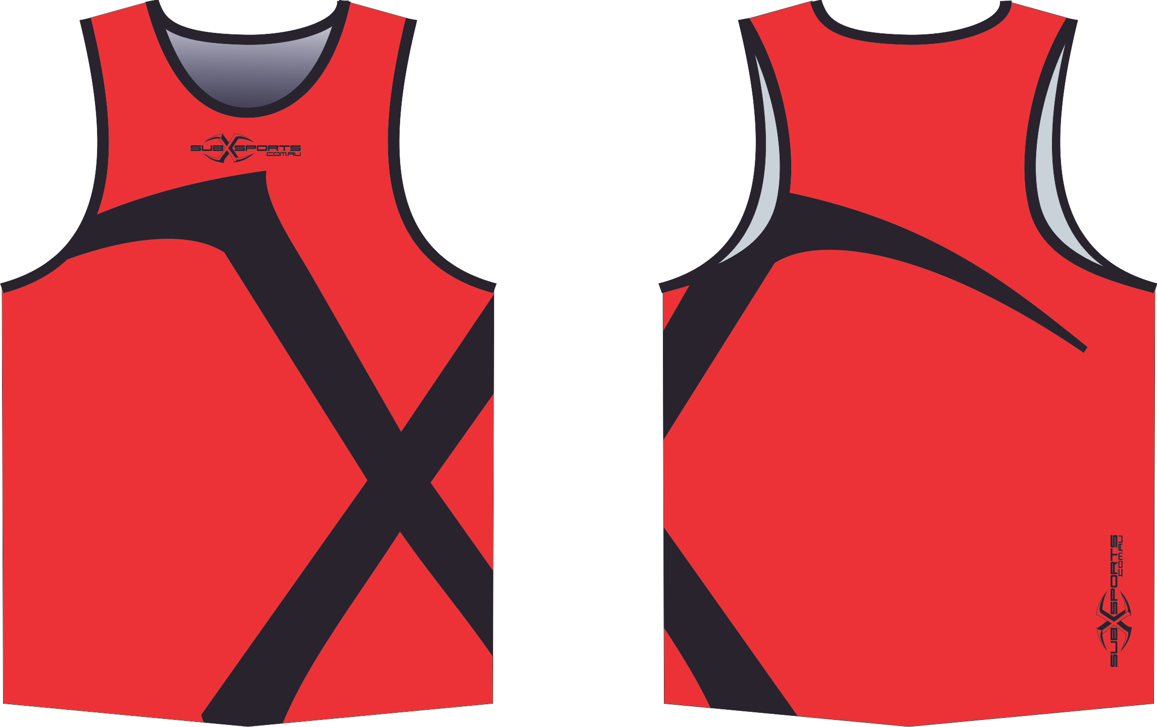 X301XS Red Black Singlet.png