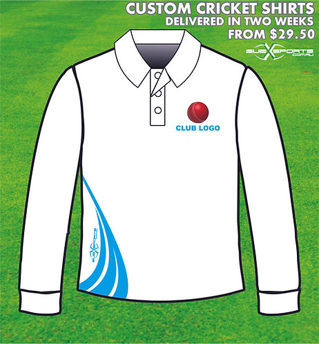 Custom Cricket Shirts