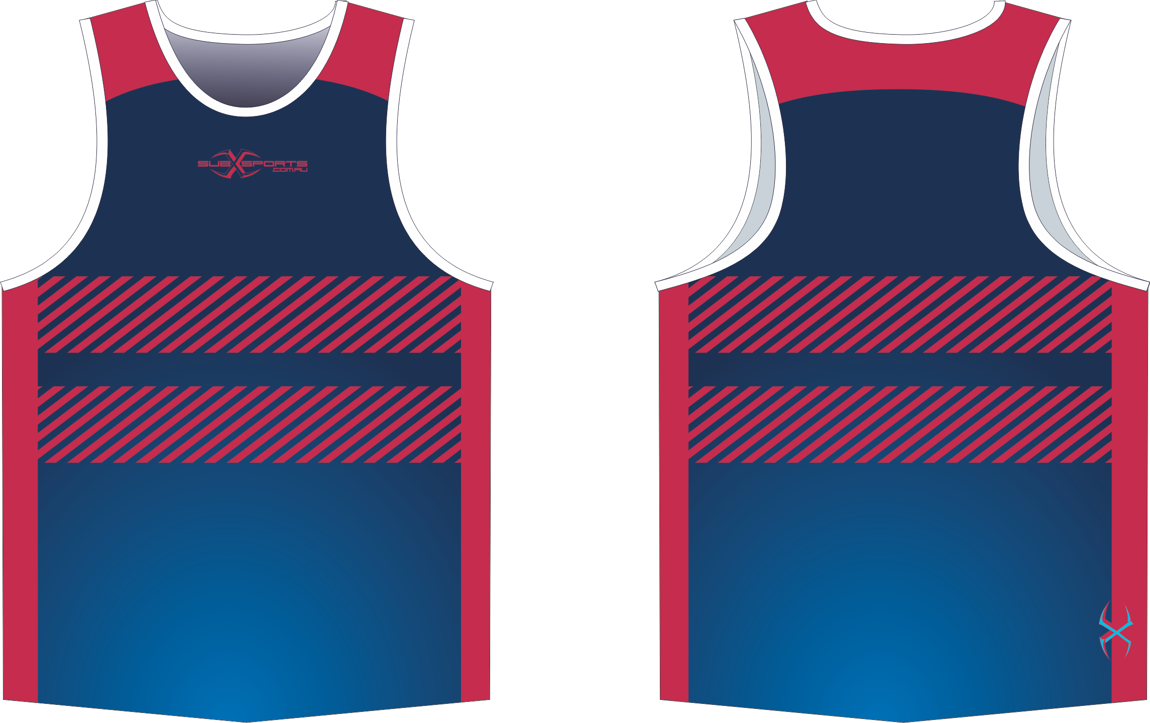 X305XS Singlet Navy Red.png
