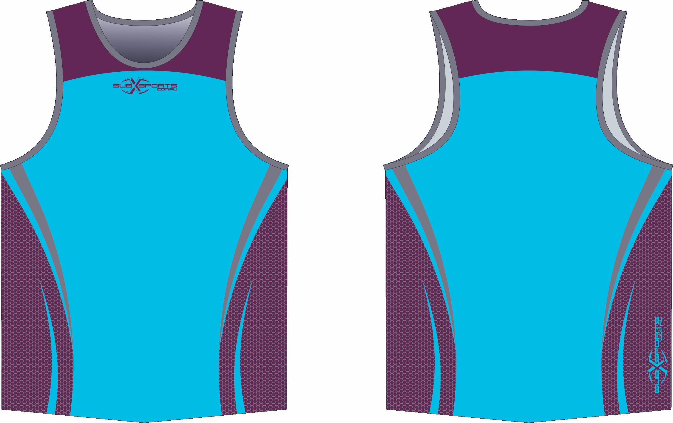 X302XS Singlet Sky Maroon Grey.png