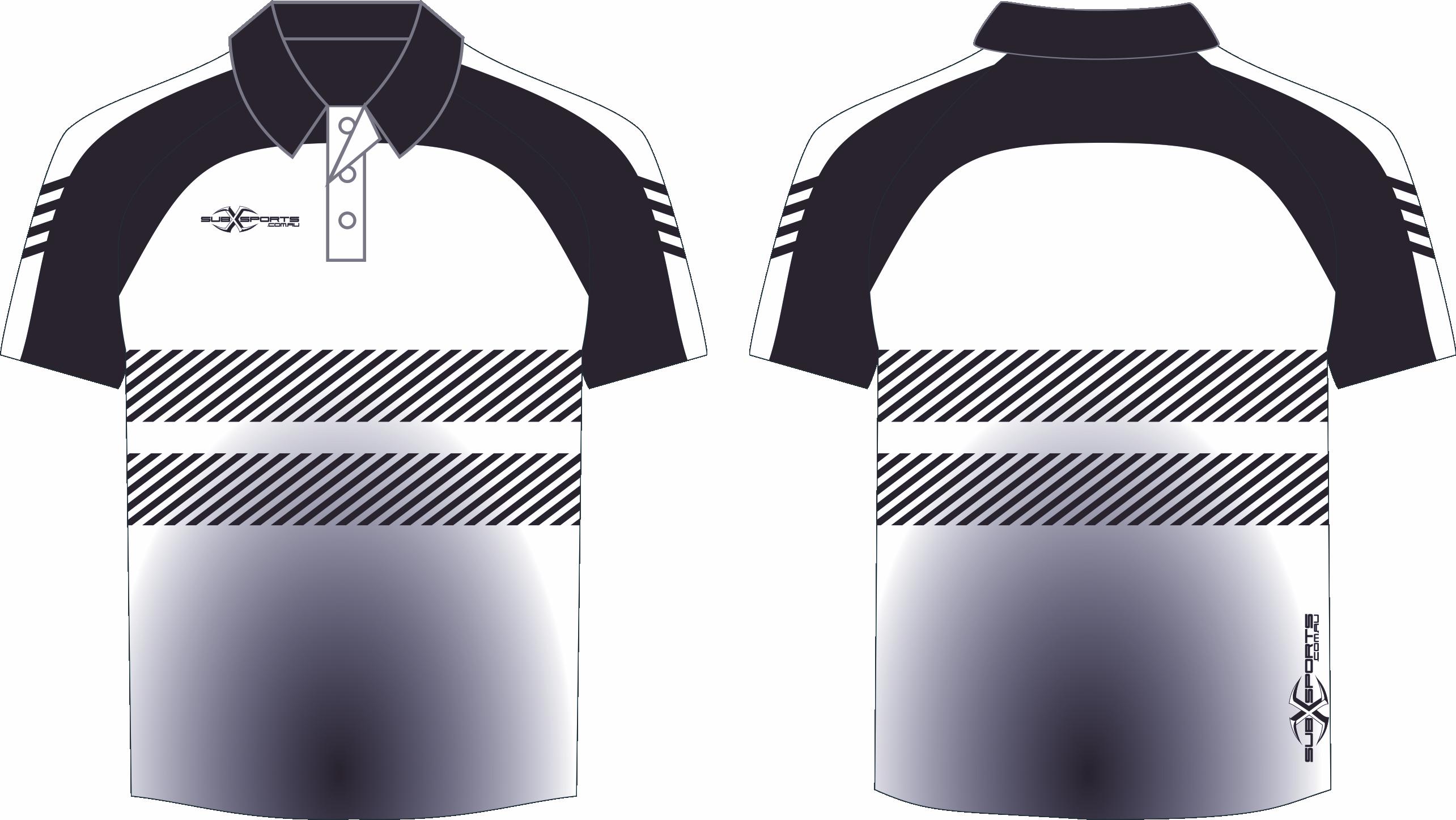X305XP Polo White Black.png