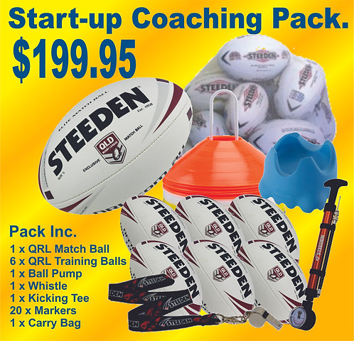 Steeden QRL Rugby League Coaching Pack