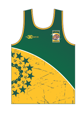 Cook Islands Touch Singlet