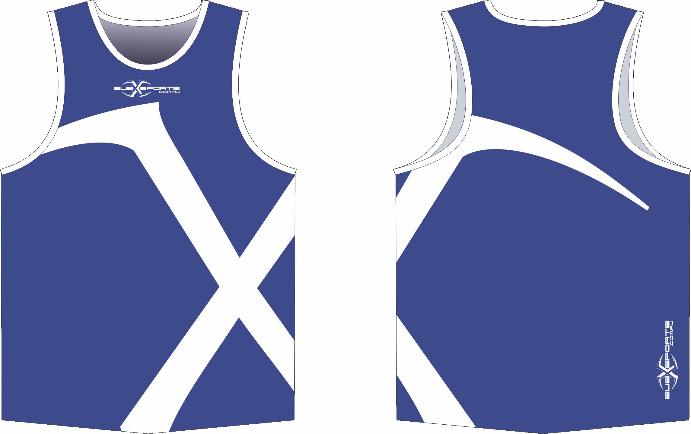 X301XS Purple White Singlet.png