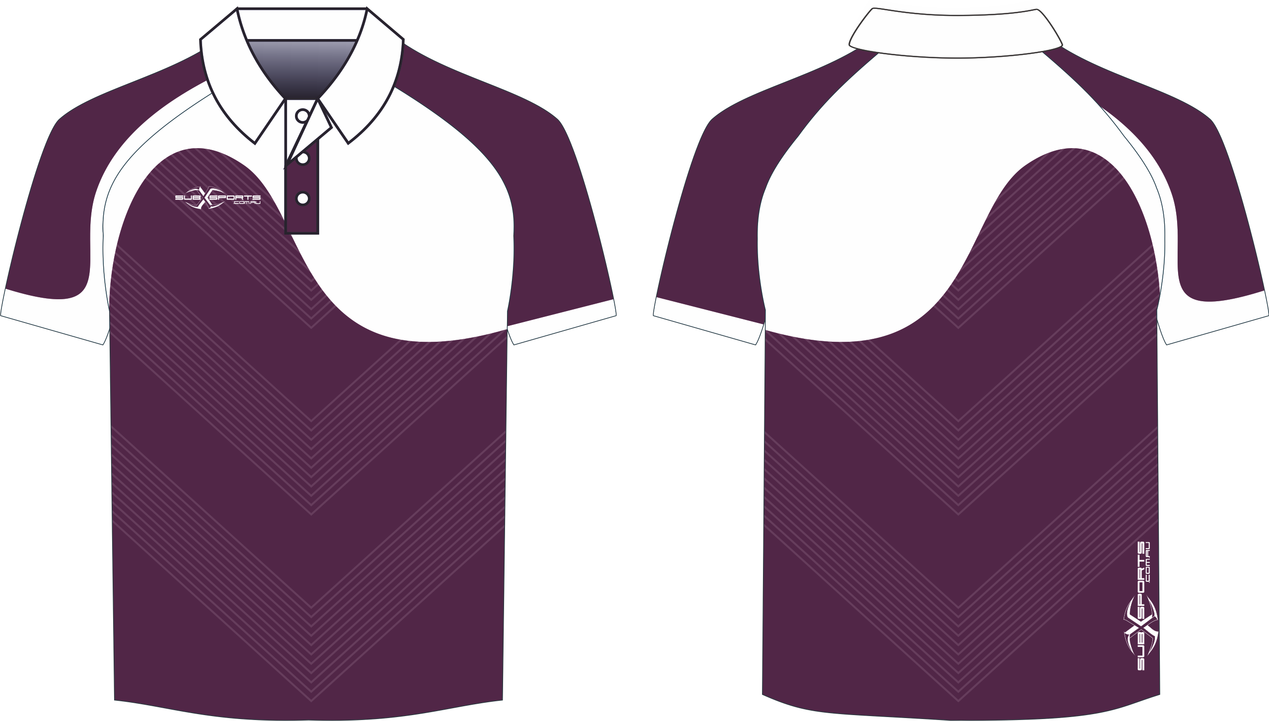 X304XP Polo Maroon White.png