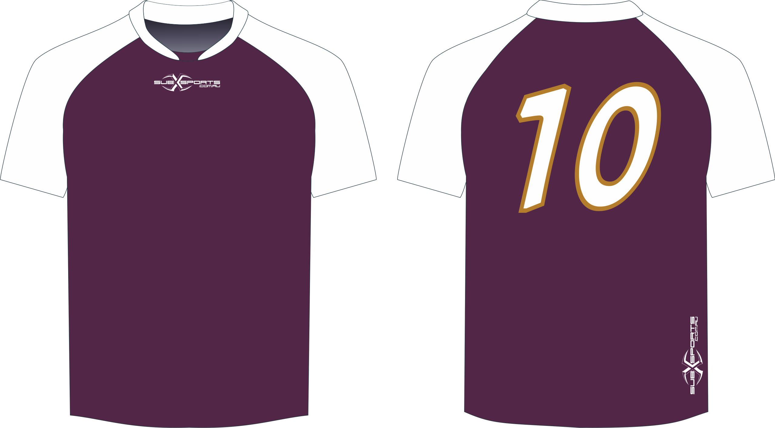 S206XJ Jersey Maroon White.png