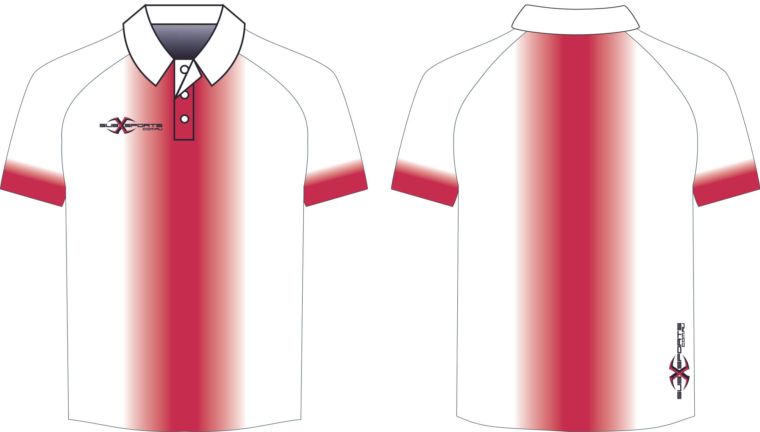 S205XP Polo White Red.png