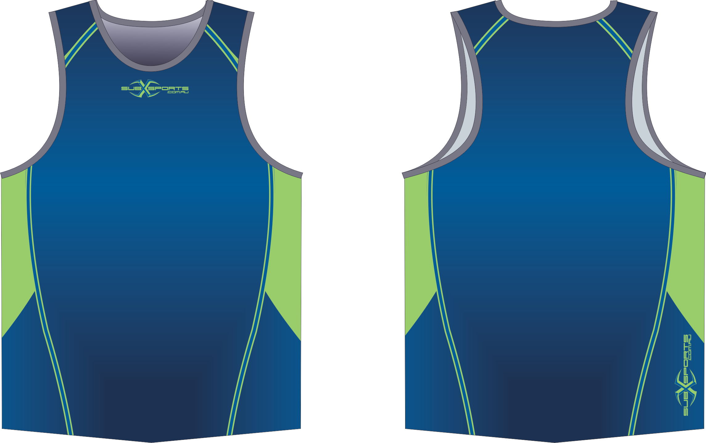 X303XS Singlet Blue Navy Lime.png