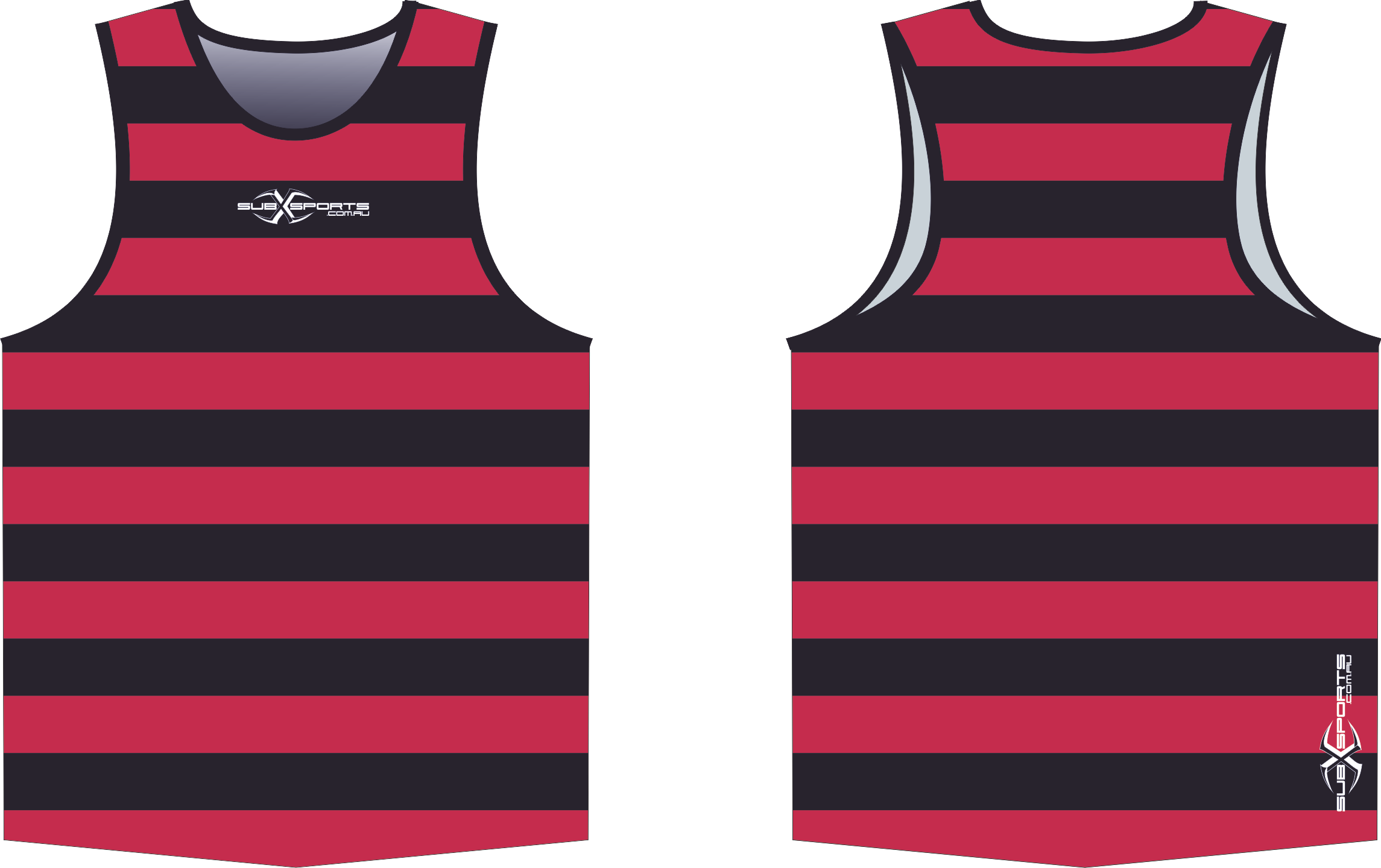 S202XS Singlet Red Black.png