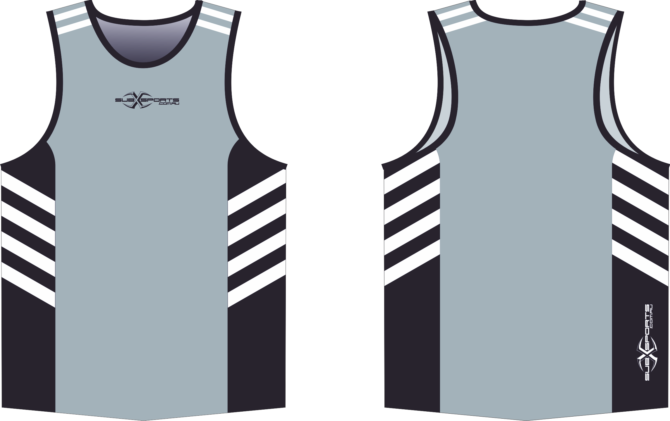 S204XS Singlet Grey Black White.png
