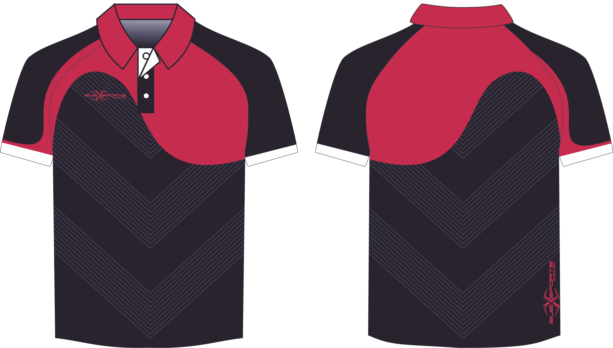 X304XP Polo Black Red.png