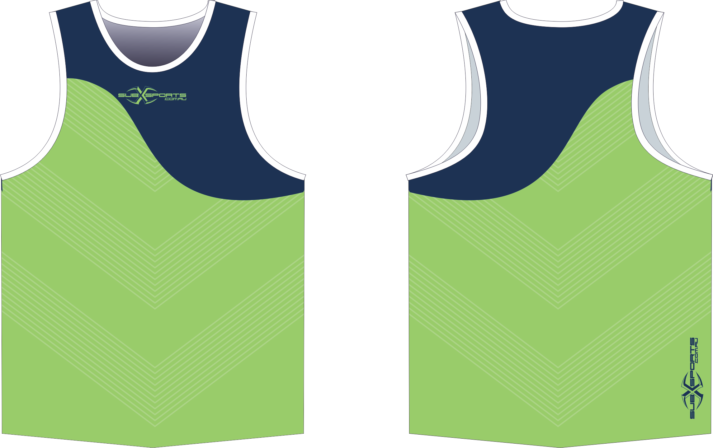 X304XS Singlet Lime Navy.png