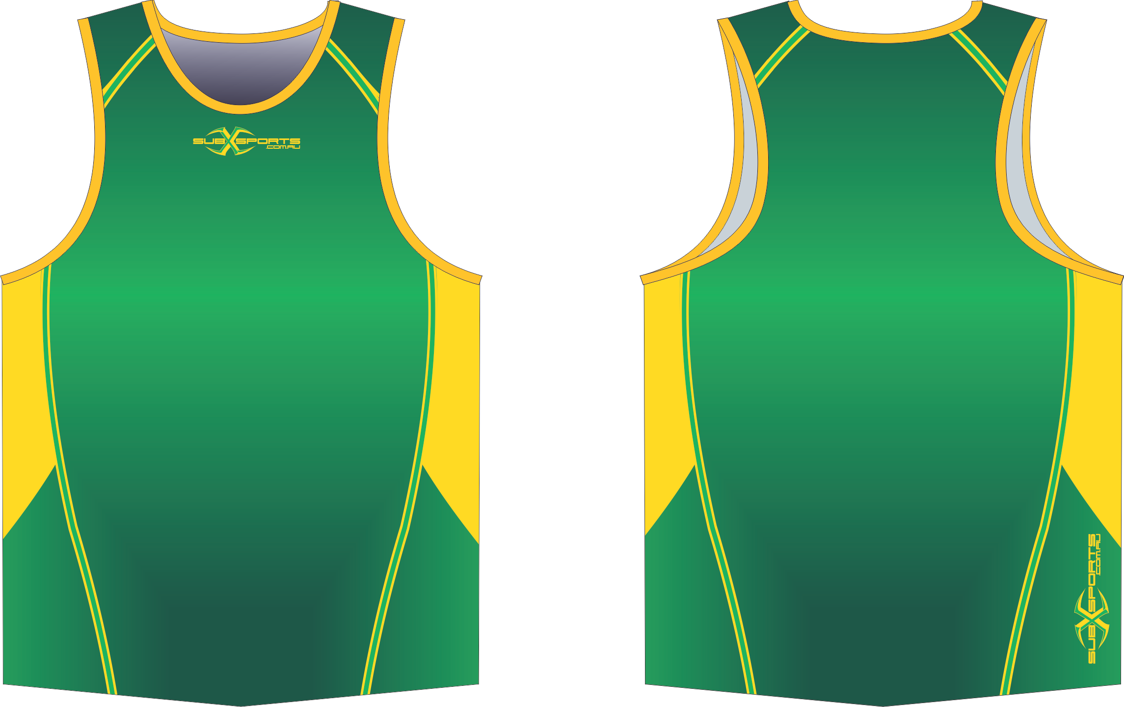X303XS Singlet Green Bottle Gold.png