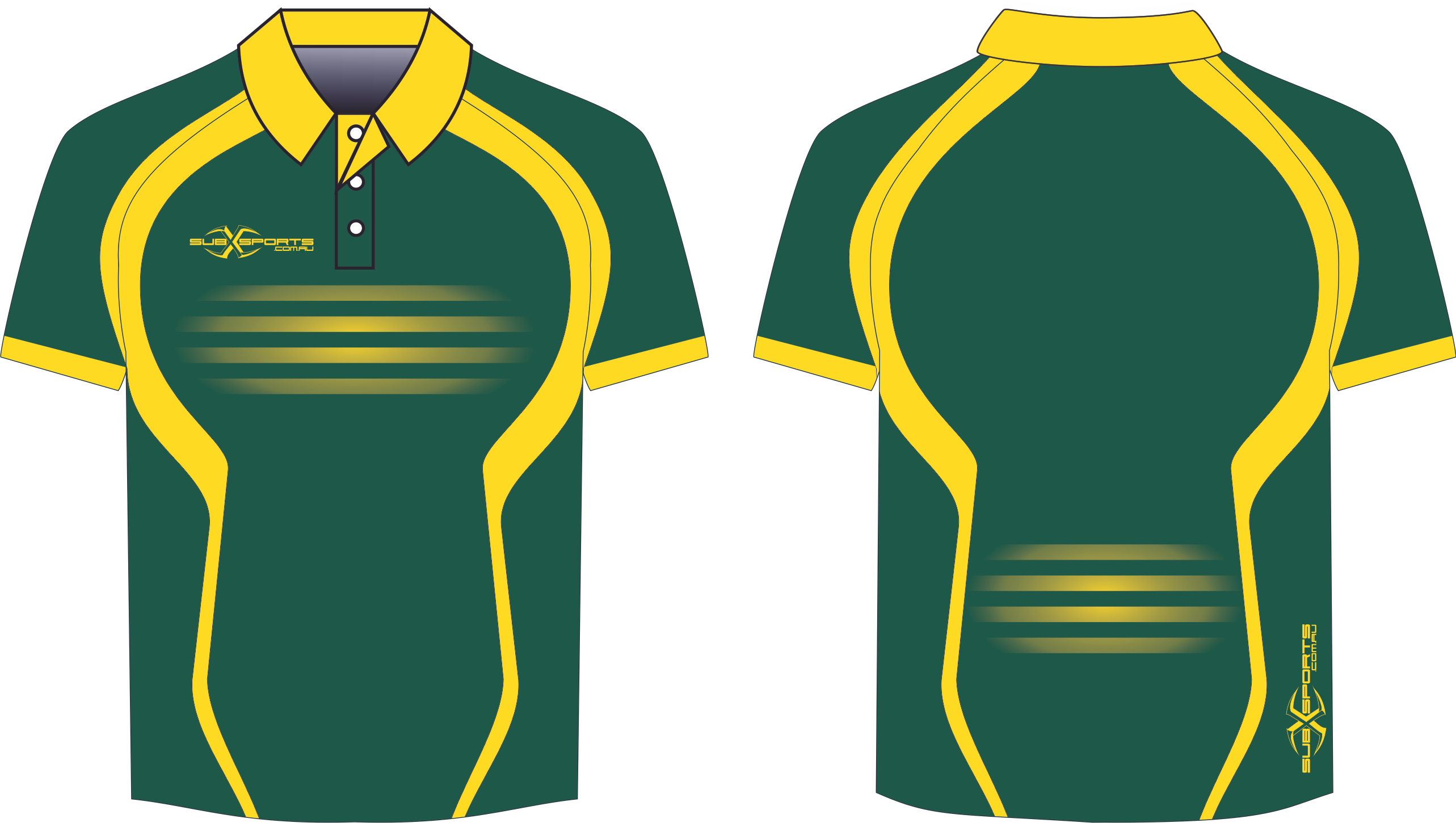 S201XP green gold sublimated Polo shirt.png